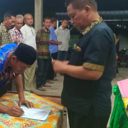 Album : Pelantikan KPPS Pemilu 2019 Desa Sugihan