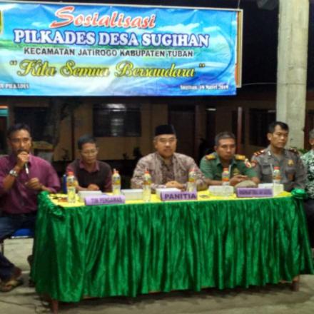 Album : Sosialisasi Pilkades 2019 Desa Sugihan